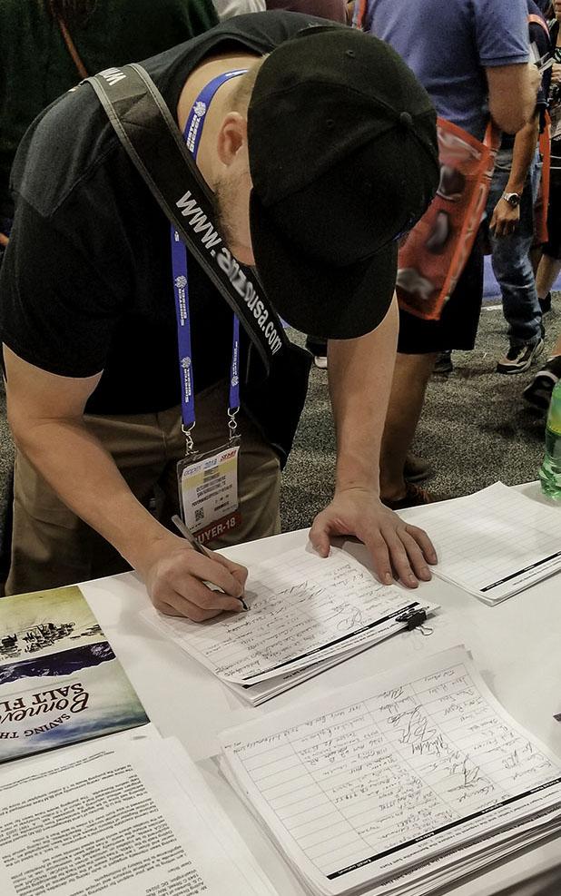STS SEMA2018 signatures
